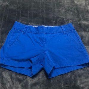 J Crew chino shorts ladies Sz 0